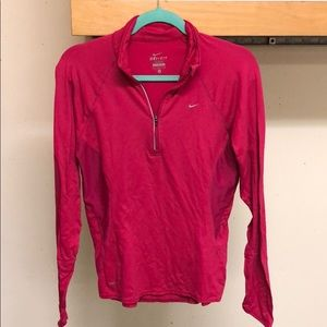 Pink Nike Dry Fit long sleeve
